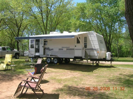Indian Trails Campground: site 100