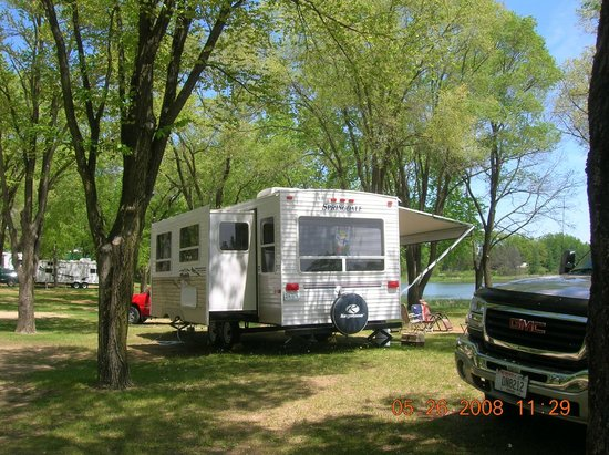 Indian Trails Campground: my campsite
