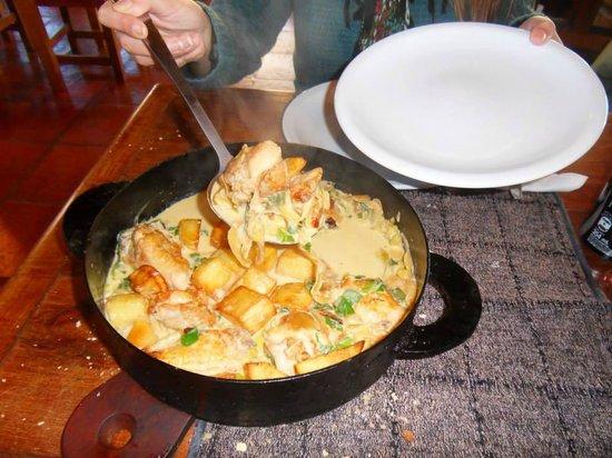 Isabel - Cocina al Disco: Disco de pollo al verdeo