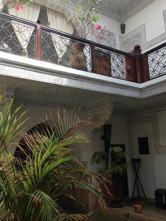 Riad Les Nuits de Marrakech: Inside hotel