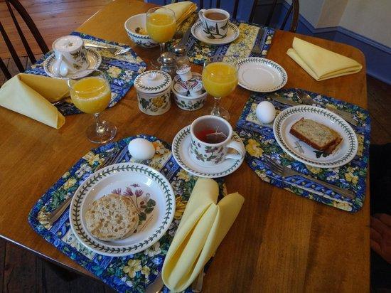 Thomas Bond House Bed & Breakfast : Breakfast - lovely