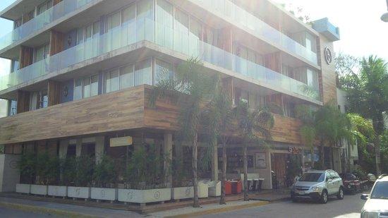 Be Playa Hotel: Vista del hotel