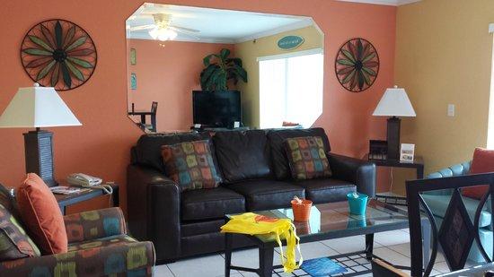 South Beach Condo/Hotel : Living area