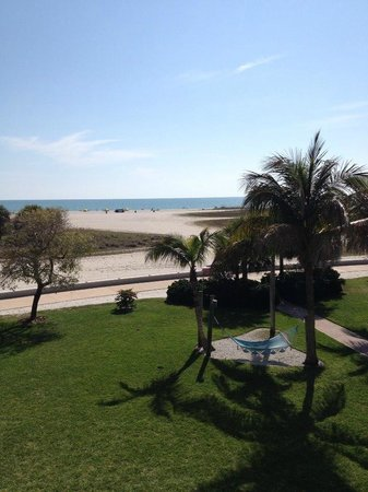South Beach Condo/Hotel: View from the balcony