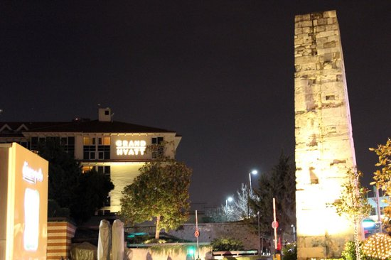 Grand Hyatt Istanbul : View of hotel from Istiklal