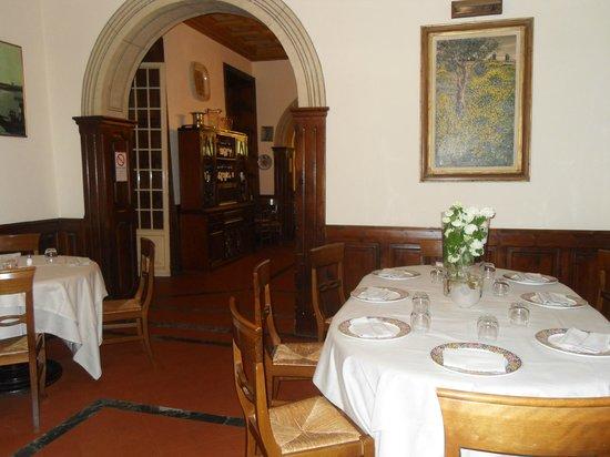 Villa delle Rose: une des salles a manger