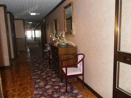 Villa delle Rose: un couloir