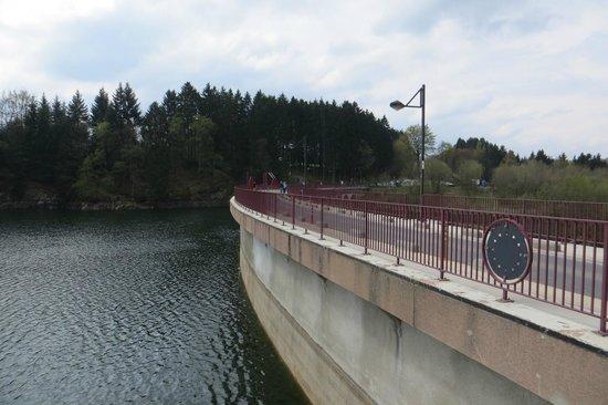 Lac de Robertville: Het stuwmeer