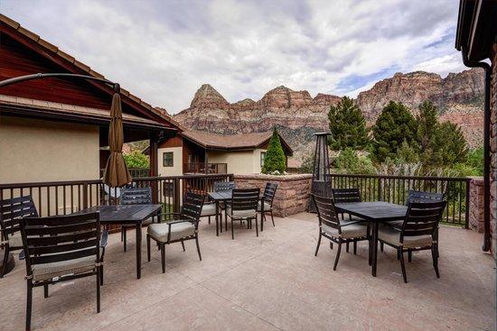 Marvelous Cliffrose Lodge U0026 Gardens: Patio Terrace Nice Design