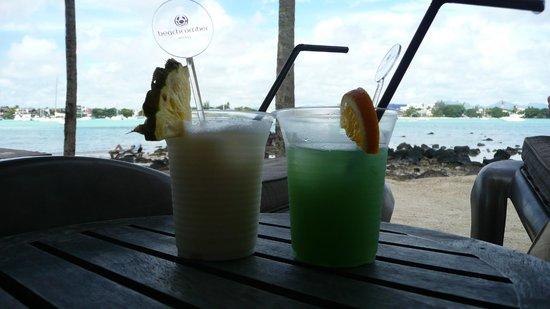 Mauricia Beachcomber Resort & Spa : Tchin !