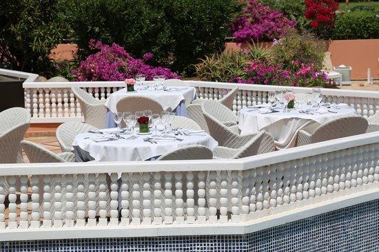 Palmeraie Palace: Alfrsco dining