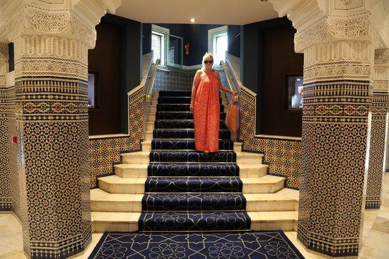 Palmeraie Palace: Main reception