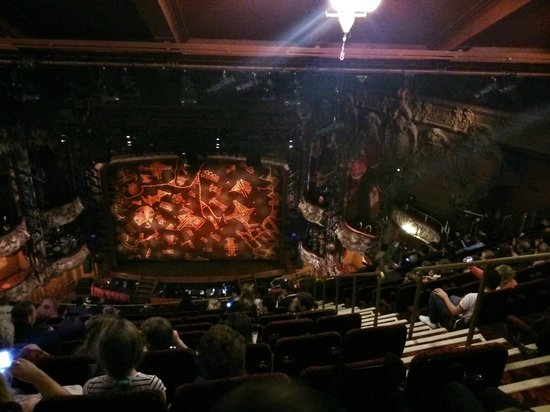 The Lion King: The view from our seat in the Grand Circle