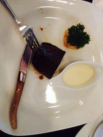 Van der Valk Hotel Wolvega-Heerenveen: Tournedos met een goede pepersaus