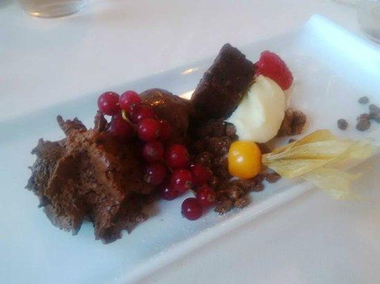 Restaurant President: Tripudio di cioccolato.