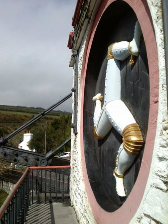 Laxey Wheel: The 'Lady Isabella' It is a little unknown fact for most visitors that the three legs should be