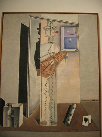 Musée Reina Sofía : Dali - Pierrot jouant de la guitare