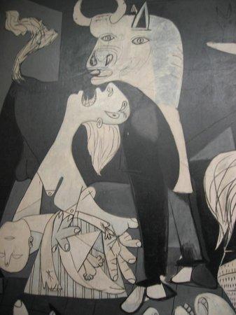 Musée Reina Sofía : Extrait de Guernica