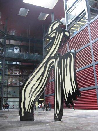 Musée Reina Sofía : Le coup de pinceau de Roy Lichtenstein