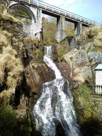 Take a short walk away from the Laxey Wheel, to visit the mine.