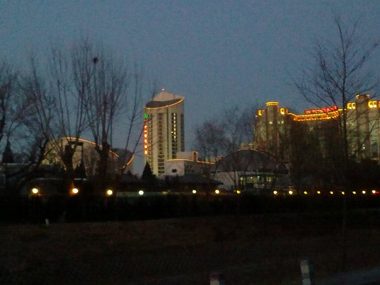 Four Seasons Hotel Beijing : views of the city, close to hotel