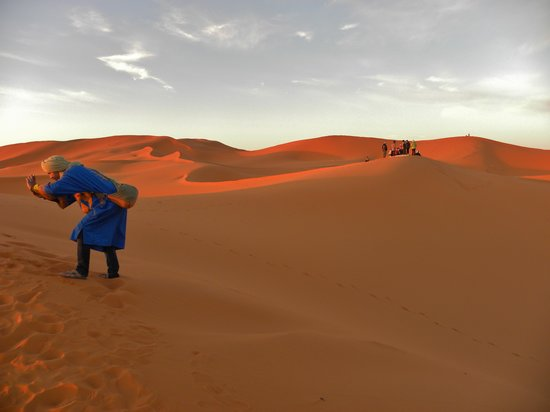 Merzouga : Surreal but really what it looked like!