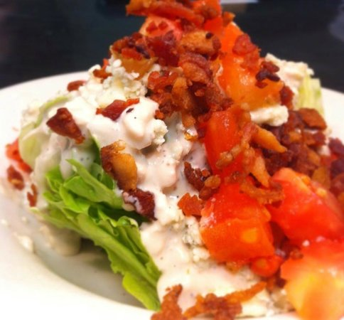 Brett's Casual American: Blue Cheese Wedge Salad