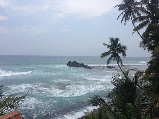 Blue Sky Beach Resort: Blick von der Terrasse