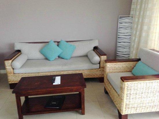 Blue Horizon Resort Apartments: Sitzgelegenheit Wohnraum