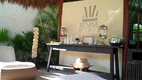 Dreams Riviera Cancun Resort & Spa: A hidratarse y consentirse en el Spa
