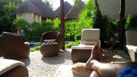 Dreams Riviera Cancun Resort & Spa: Descansando