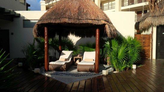 Dreams Riviera Cancun Resort & Spa: Consintiendome en el Spa