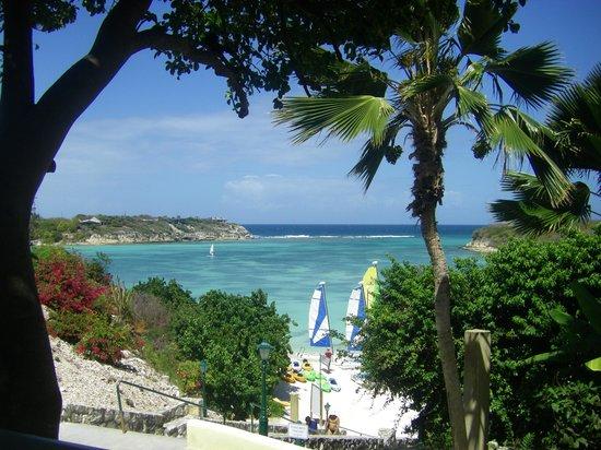 The Verandah Resort & Spa : beach bar view for lunch