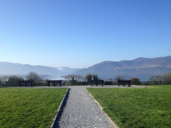 Aghadoe Heights Hotel & Spa: Public Viewing Area nearby