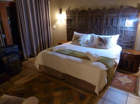 La Kruger Lifestyle Lodge: Nice rooms with comfortable beds.