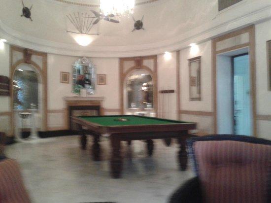 The Lalit Laxmi Vilas Palace Udaipur: Pool Table