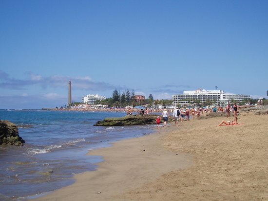 Hotel Dunas Suites and Villas Resort: playa de Maspalomas