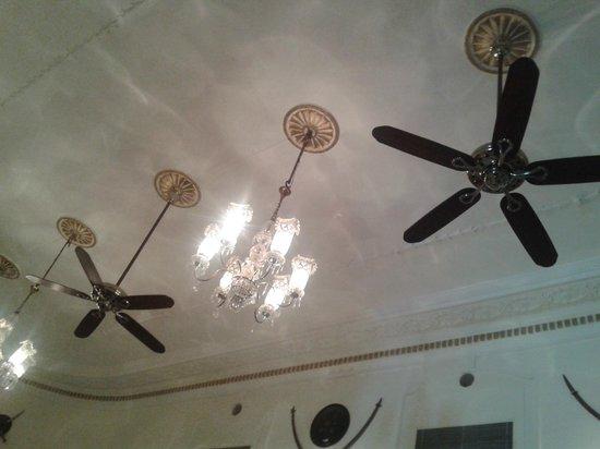 The Lalit Laxmi Vilas Palace Udaipur: ceiling