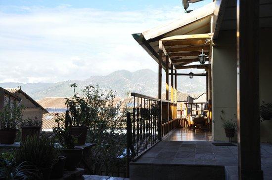 Amaru Hostal: View