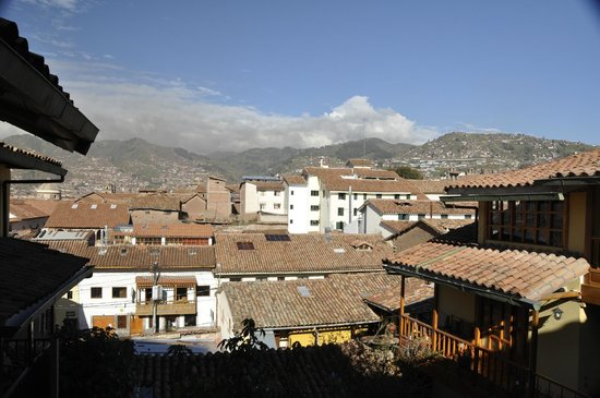 Amaru Hostal : View of the city