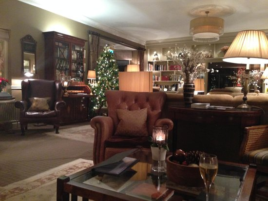 Gilpin Hotel & Lake House: The Lounge Area where we enjoyed late, after dinner drinks