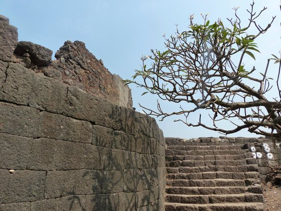 Alibaug, Indien: Fort interiors