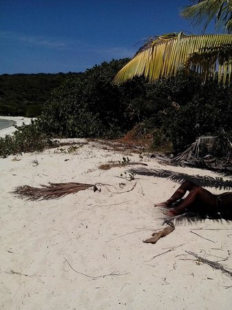 Culebrita Island: Tortuga beach on island of Culebrita Puerto Rico