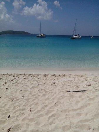 Culebrita Island: Tortuga beach on the island of Culebrita.