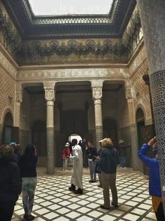 Taourirt Kasbah : Typical Moorish architecture