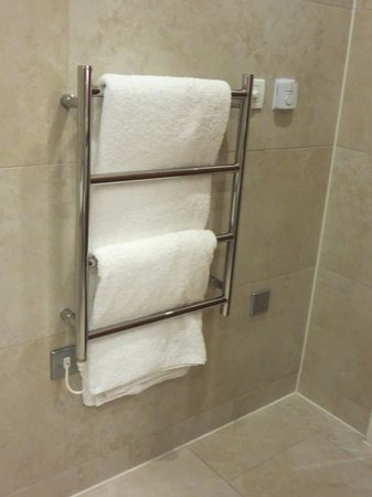 The Grand Hotel & Spa: towel warming rack