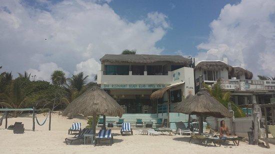 Hotel Playa Kin Ha : The hotel