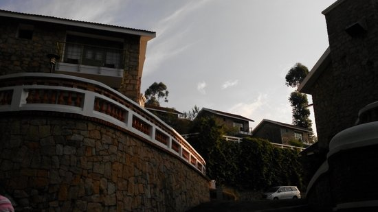 Mountain Club Resort: The upper cottages