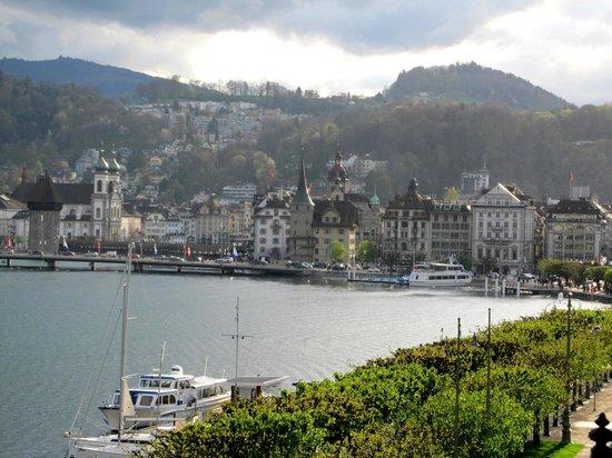 Grand Hotel National: Lucerne City