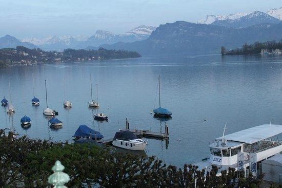 Grand Hotel National: Lake Lucerne